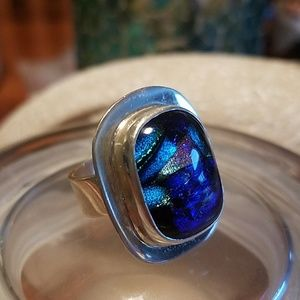 Jewelry - Sterling Silver Mosaic Ring
